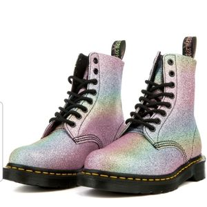 Dr. Martens Pascal Glitter Ankle Boot 7